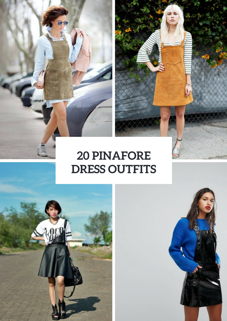 Outfits With Pinafore Dresses