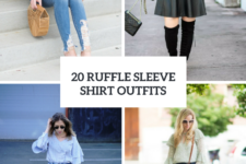 20 Outfits With Ruffle Sleeve Shirts