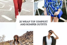 20 Outfits With Wrap Top Jumpsuits And Rompers
