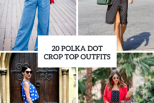 20 Polka Dot Crop Top Outfit Ideas