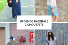 20 Spring Outfits With Denim Baseball Caps