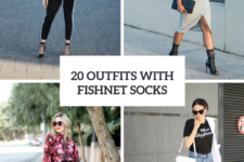 20 Wonderful Outfits With Fishnet Socks