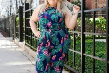 summer or spring curvy girl outfit