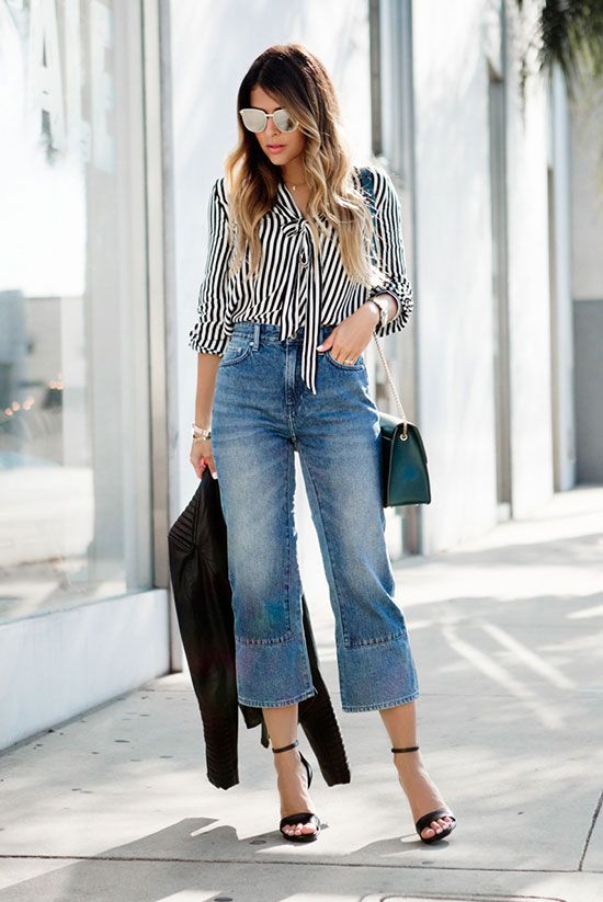 Outfit teal jeans 21 Stunning