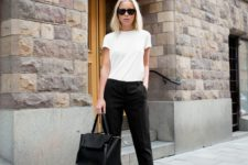 b&w office look for spring