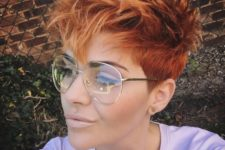 12 a daring long pixie haircut with fun bangs styled up