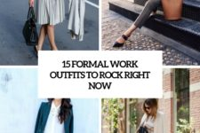 15 formal work outfits to rock right now cover