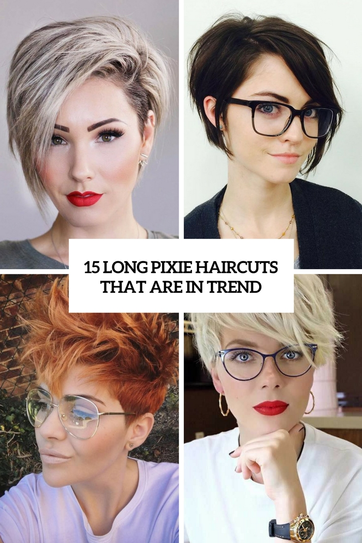 long pixie haircuts that are in trend cover