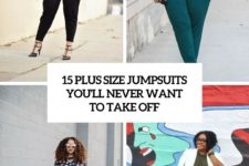 15 plus size jumpsuits you'll never want to take off cover