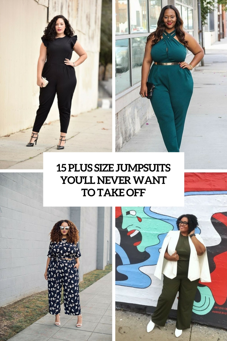 74dbcddb8be4 15 Plus Size Jumpsuits You'll Never Want To Take Off – OBSiGeN