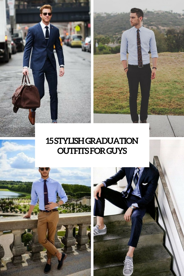 15 Stylish Graduation Outfits For Guys