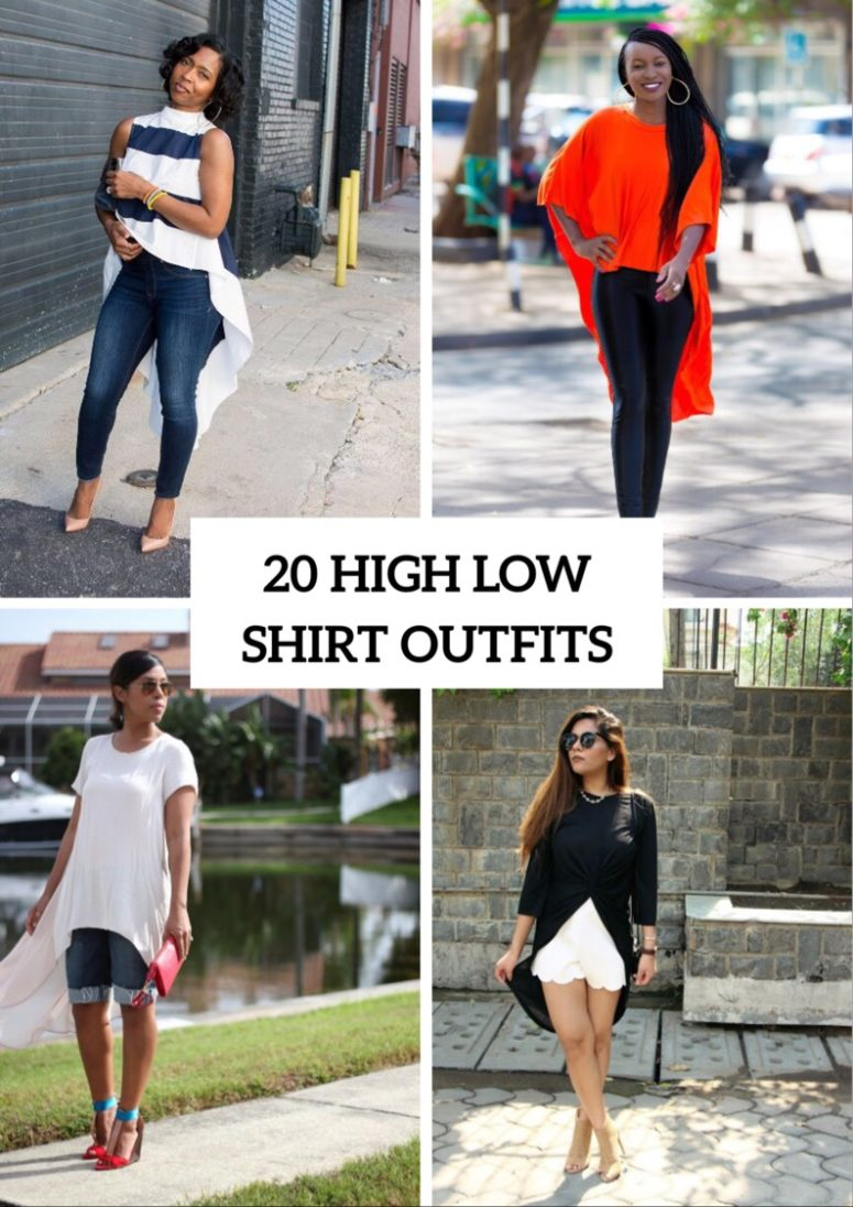 20 Awesome Outfits With High Low Shirts