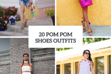 20 Awesome Outfits With Pom Pom Shoes