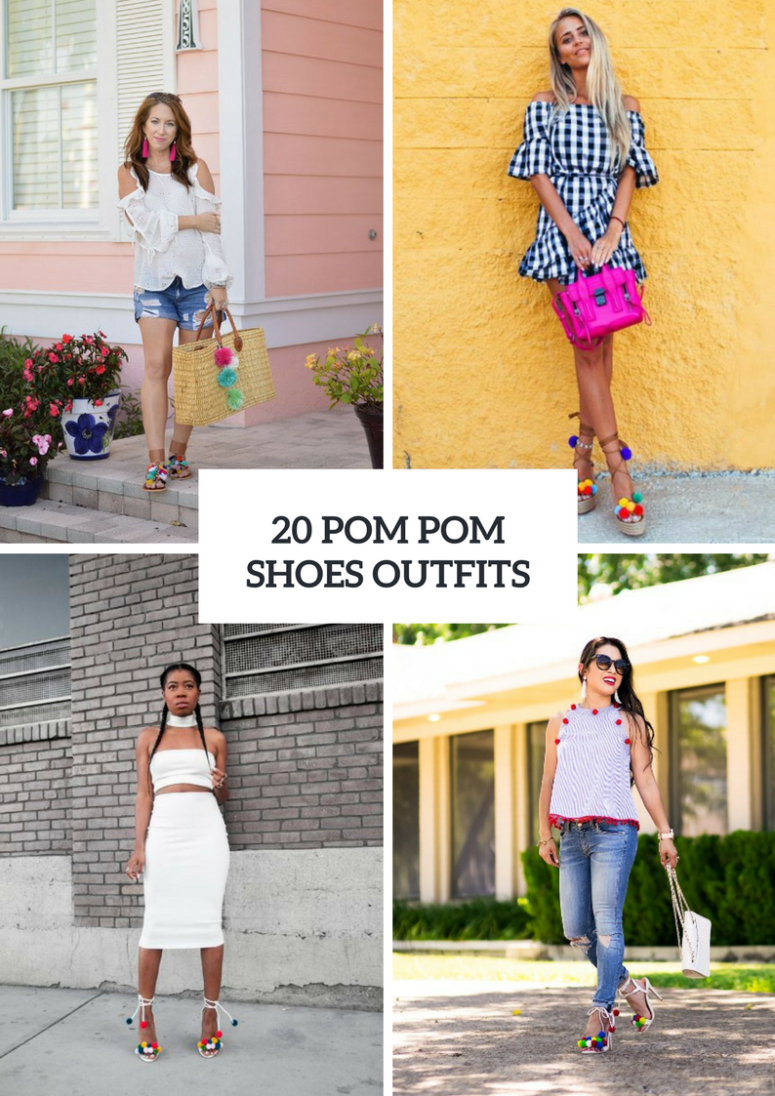Awesome Outfits With Pom Pom Shoes