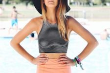 modern swimsuit for a stylish look