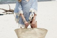 awesome beach outfit with a tunic