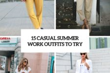 15 casual summer work outfits to try cover