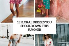 15 floral dresses you should own this summer cover