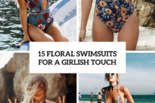15 floral swismuits for a girlish touch cover