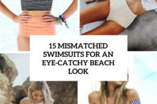 15 mismatched swimsuits for an eye-catchy beach look cover