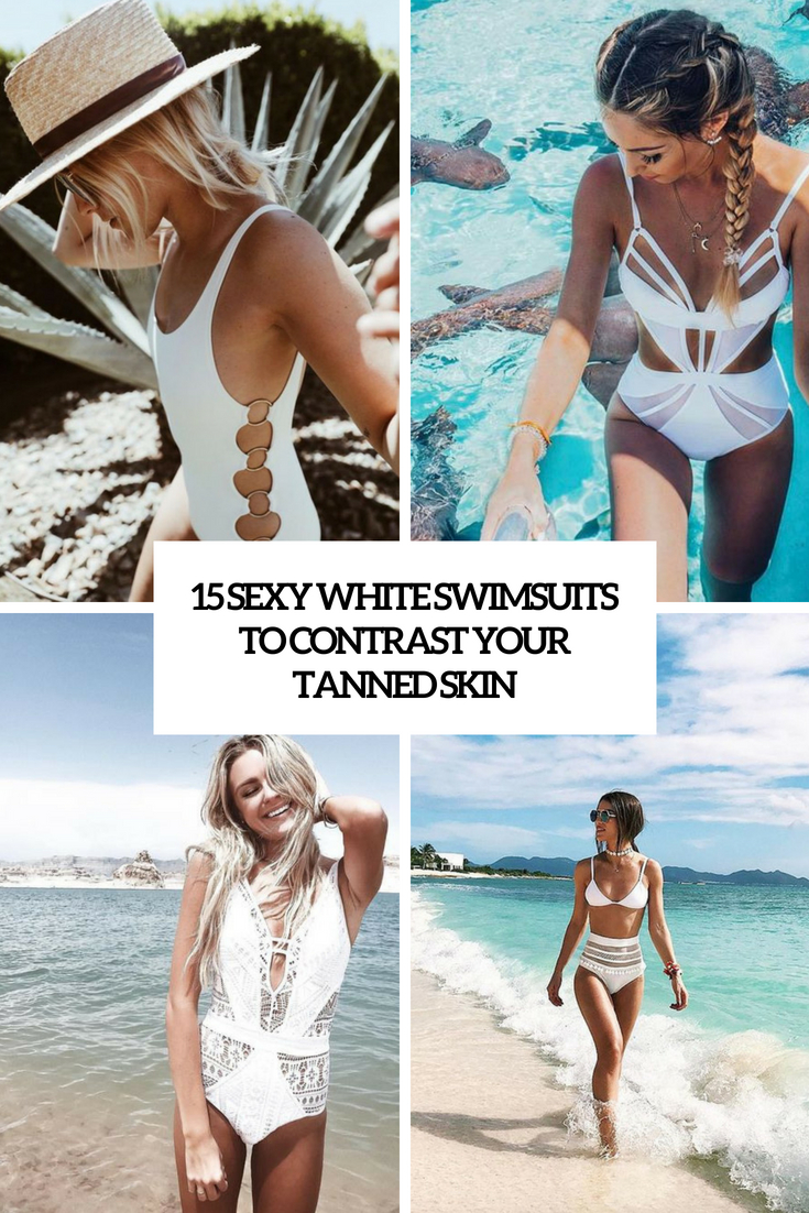 15 Sexy White Swimsuits To Contrast Your Tanned Skin