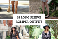 18 Attractive Outfits With Long Sleeve Rompers