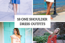 18 Charming One Shoulder Dress Outfits To Try