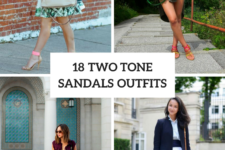 18 Outfits With Two Tone Sandals