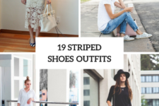 19 Fabulous Outfits With Striped Shoes