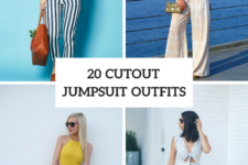 20 Cutout Jumpsuit Outfits For Ladies