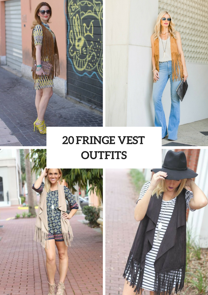 Fringe Vest Outfits To Repeat