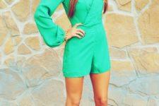 mint green summer look