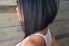 03 a black angled short bob haircut is a modern statement