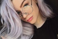 oversized glasses for a sexy look