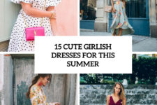 15 cute girlish dresses for this summer cover