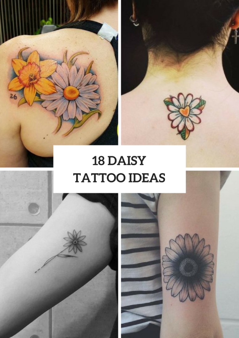 18 Amazing Daisy Tattoo Ideas For Women Styleoholic