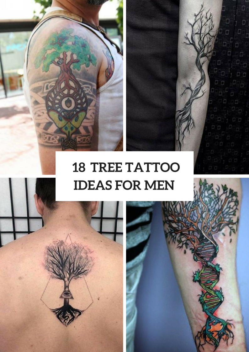 Amazing Tree Tattoo Ideas For Men