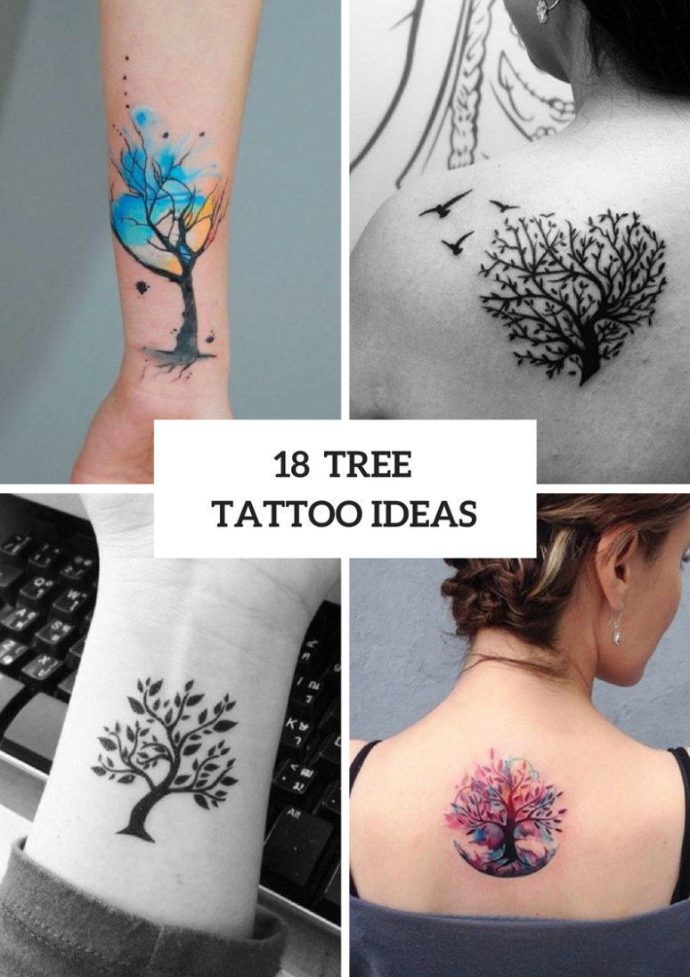 Beautiful Tree Tattoo Ideas
