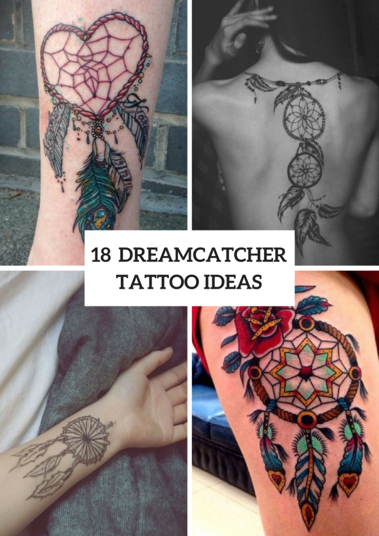 18 Dreamcatcher Tattoo Ideas For Ladies