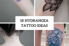 18 Hydrangea Tattoo Ideas For Romantic Ladies