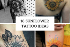 18 Sunflower Tattoo Ideas For Women