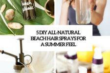 5 diy all-natural beach hair sprays for a summer feel cover