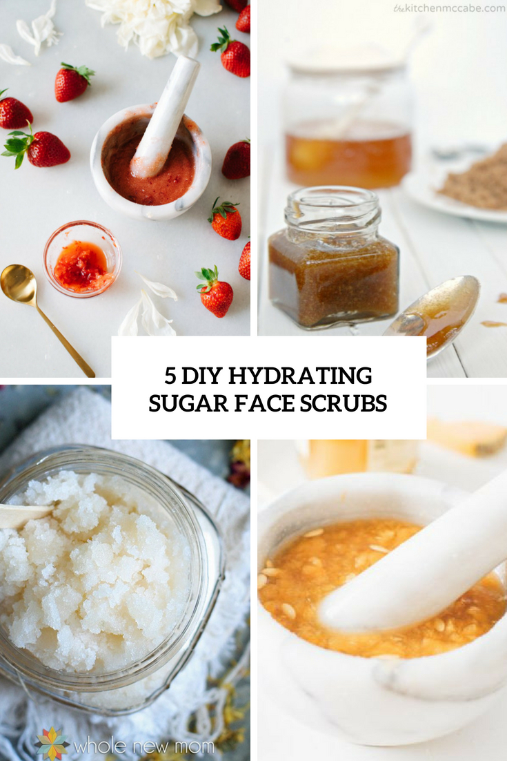 5 DIY Hydrating Sugar Face Scrubs
