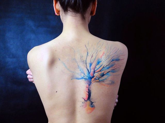 Gorgeous tattoo on the back