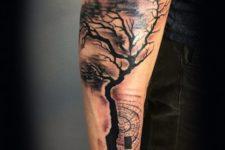 Gorgeous tattoo on the forearm