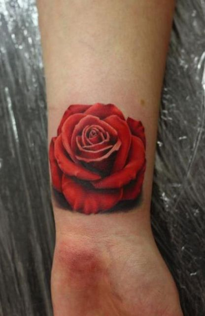 499a83b70 18 Romantic Small Rose Tattoo Ideas For Ladies - Styleoholic