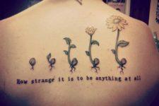 Unique tattoo idea on the back