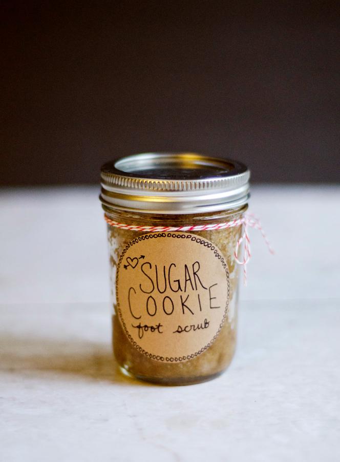 DIY sugar cookies foot scrub (via soletshangout.com)