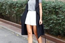 pre-fall monochromatic outfit for work environment
