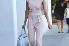 10 a pink sheath jumpsuit that highlights every curve and looks office-appropriate at the same time